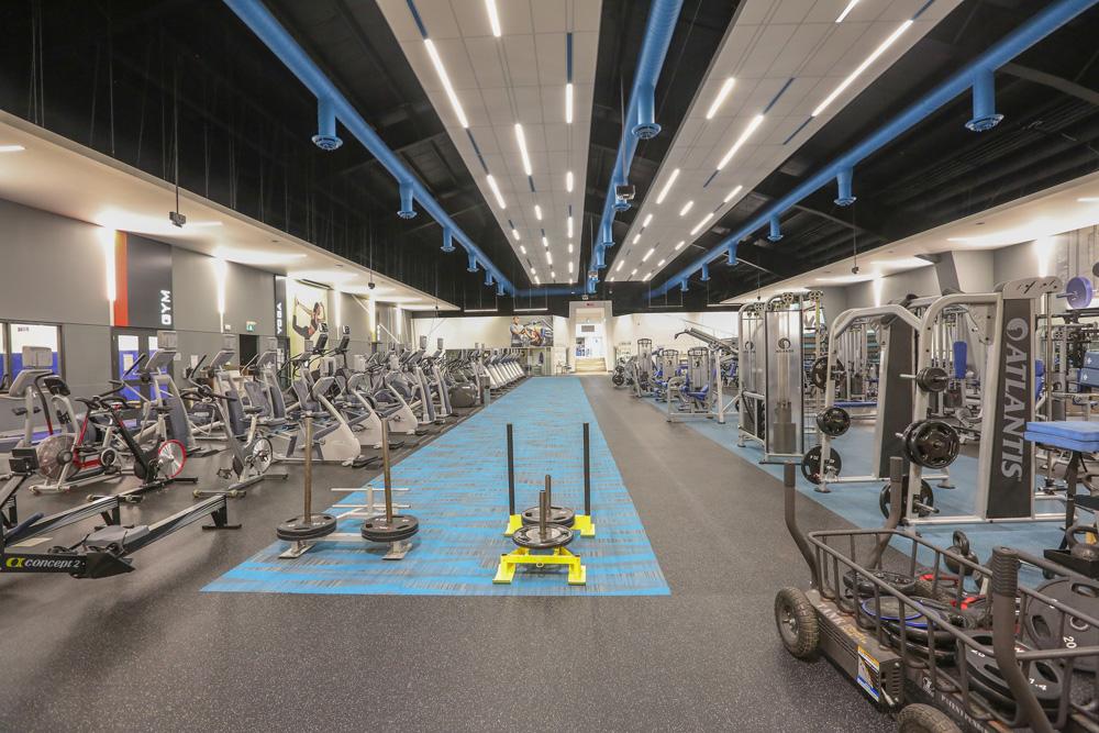 Mayfair Lakeshore Gym Area
