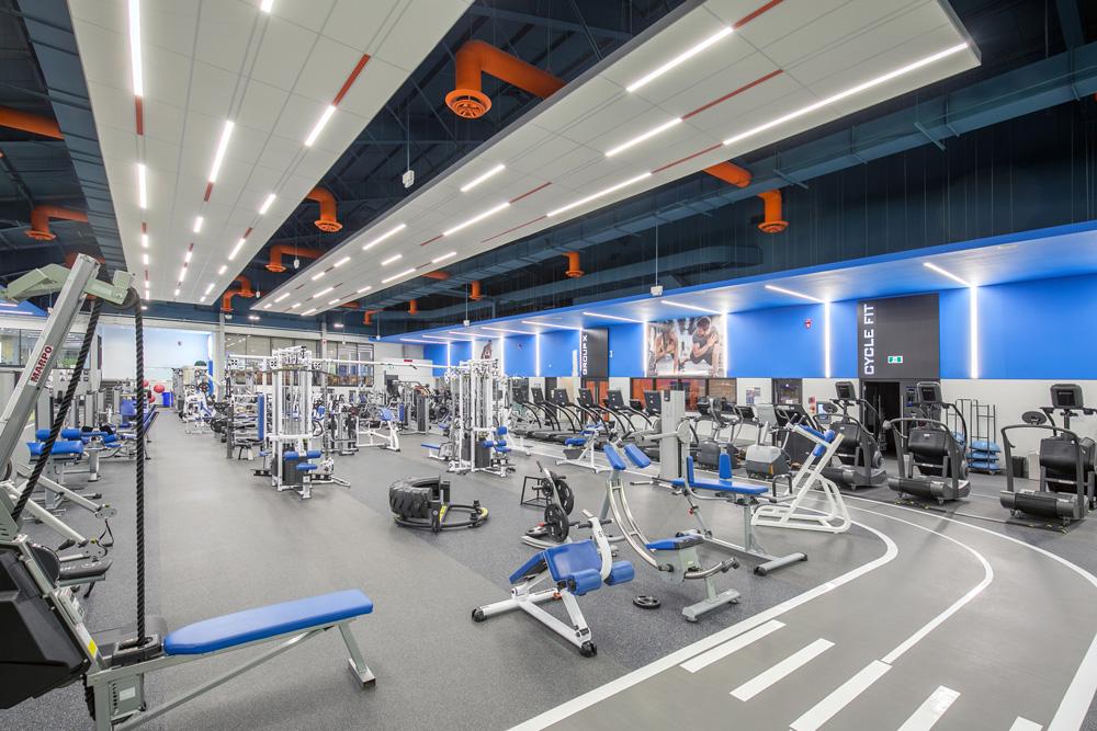 Mayfair West Gym Area