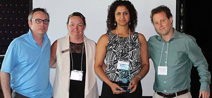 Award from Squash Canada