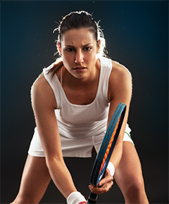 Image of female tennis player
