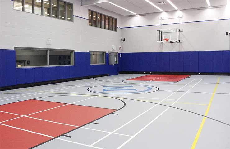 Multi-sport gym