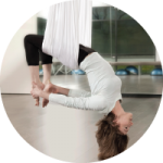 Aerial Yoga at Mayfair Clubs