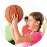 Kids basketball at Mayfair Clubs