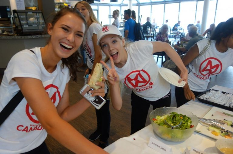 Miss World Canada, Fitness Day at Mayfair - Mayfair Clubs