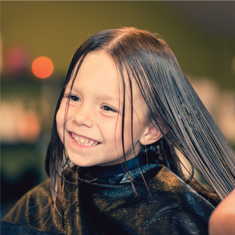 Child's Haircut