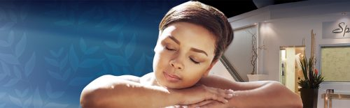Women relaxing during spa treatment