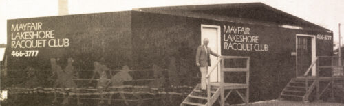 Mayfair Lakeshore historical black and white photo