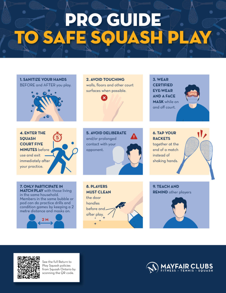 Squash Pro Guide to Safe Play