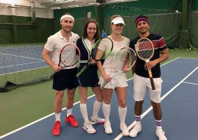 Staff Tennis Event